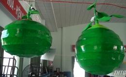 Cái Bè tổ chức thiết kế lồng đèn và mô hình sản vật địa phương