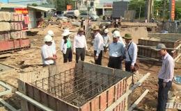 Chủ tịch UBND tỉnh Tiền Giang kiểm tra các công trình tại Tp. Mỹ Tho