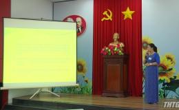 Hội thi báo cáo viên giỏi cấp tỉnh năm 2019