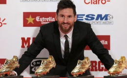 Ronaldo, Messi bị bỏ xa trong cuộc đua Chiếc giày vàng châu Âu