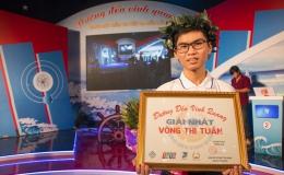 Ngô Thành Danh giành giải nhất tuần đầu tiên tháng thứ nhất