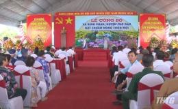 Ra mắt xã nông thôn mới Bình Phan, huyện Chợ Gạo