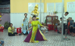 Độc đáo nghệ thuật múa bóng rỗi