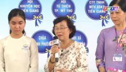 Hoàn cảnh em Trần Tuyết Hường, học sinh trường THPT Cái Bè