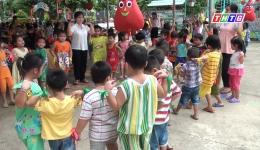 """Chuyên đề 20-11 """"Chăm sóc và giáo dục trẻ ở Trường mẫu giáo Tân Trung"""""""