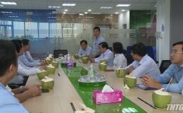 Lãnh đạo UBND tỉnh Tiền Giang làm việc với Công ty Heineken Việt Nam