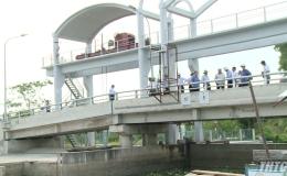 Hiệu quả từ hệ thống cống Dự án Ba Rài – Phú An