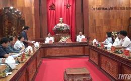 UBND tỉnh Tiền Giang tiếp và làm việc với đoàn công tác tỉnh Quảng Ninh