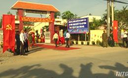 Xã Đồng Thạnh, huyện Gò Công Tây ra mắt xã nông thôn mới