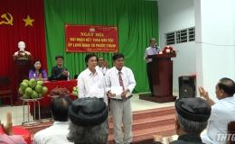 Bí thư Tỉnh ủy dự Ngày hội Đại đoàn kết toàn dân tộc xã Phước Thạnh