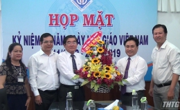 Lãnh đạo UBND tỉnh Tiền Giang chúc mừng Ngày Nhà giáo Việt Nam