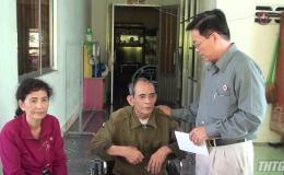 Hội CCB tỉnh Tiền Giang thăm và tặng quà cho hội viên bị bệnh