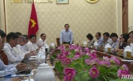 UBND tỉnh Tiền Giang họp thành viên tháng 12/2019