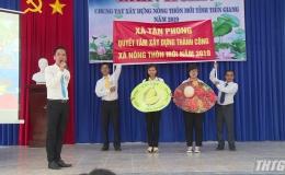 Tiền Giang tổ chức Liên hoan chung tay xây dựng nông thôn mới