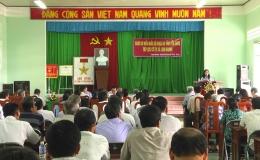 Đại biểu Quốc hội tỉnh Tiền Giang tiếp xúc cử tri