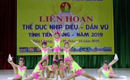 Tiền Giang tổ chức Liên hoan Thể dục nhịp điệu – Dân vũ