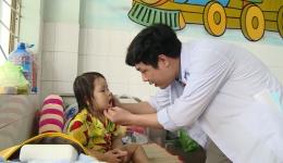 Bệnh tay chân miệng tăng đột biến tại Tiền Giang
