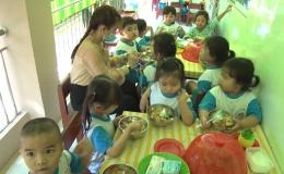 Chuyên đề 30.12 – Trường mầm non Song Bình điểm sáng về an toàn vệ sinh thực phẩm
