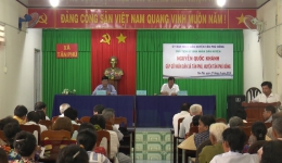 """Chuyên đề 07-11 """"Tân Phú thực hiện tốt công tác tuyên truyền và phổ biến giáo dục pháp luật…"""""""