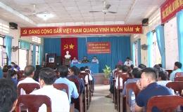Thượng tướng Nguyễn Trọng Nghĩa tiếp xúc cử tri huyện Tân Phú Đông