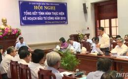 Năm 2019, nguồn vốn đầu tư công tỉnh Tiền Giang đạt hơn 4.148 tỷ đồng