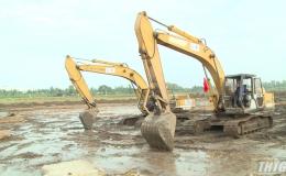 Tiền Giang tổ chức ép cọc xây dựng bệnh viện đa khoa