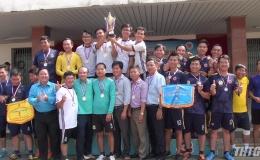Bế mạc bóng đá mini công nhân viên chức lao động, lực lượng vũ trang tỉnh Tiền Giang năm 2019