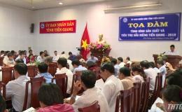 Tiền Giang tổ chức tọa đàm sản xuất và tiêu thụ sầu riêng