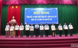 Tỉnh ủy Tiền Giang tổng kết 10 năm thực hiện Kết luận 61 của Ban Bí thư