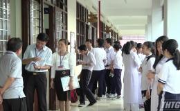 Khai mạc kỳ thi chọn học sinh giỏi Quốc gia THPT tỉnh Tiền Giang năm học 2019-2020