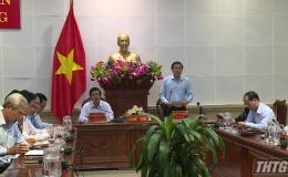 Chủ tịch UBND tỉnh Tiền Giang đề xuất các giải pháp cho nhiệm vụ phát triển kinh tế – xã hội năm 2020