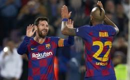 Messi gây ấn tượng mạnh trong cột mốc 500 chiến thắng