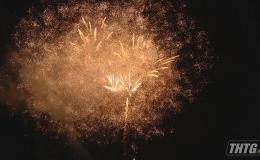 Tiền Giang chào Xuân 2020 với phần pháo hoa rực sáng