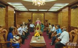 Chủ tịch UBND tỉnh Tiền Giang chúc Tết các đơn vị