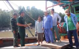 Chuyên đề 17.01- Gò Công Đông tuyên truyền phòng tránh cháy nổ tàu cá
