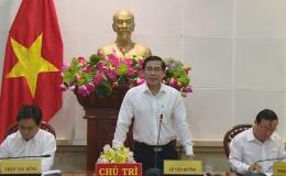 Chủ tịch UBND tỉnh Tiền Giang làm việc với các đơn vị thi công đường cao tốc Trung Lương – Mỹ Thuận
