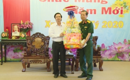 Bí thư Tỉnh ủy Tiền Giang chúc Tết lực lượng vũ trang