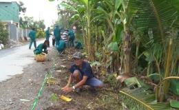 Chuyên đề 13.01 – Phong trào chung sức xây dựng nông thôn mới của BCH quân sự xã Song Bình