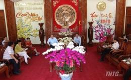 Phó Thủ tướng Trương Hòa Bình chúc Tết tại Tiền Giang