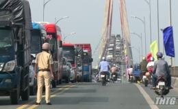 Cảnh sát giao thông Tiền Giang triển khai kế hoạch chống ùn tắc giao thông dịp Tết Nguyên đán 2020