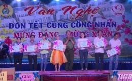 Lãnh đạo UBND tỉnh Tiền Giang tham dự đêm văn nghệ đón Tết cùng công nhân tại KCN Mỹ Tho