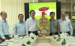 Bí thư tỉnh ủy Tiền Giang thăm và chúc Tết các doanh nghiệp