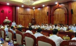 UBND tỉnh Tiền Giang họp thành viên triển khai nhiệm vụ đầu năm mới