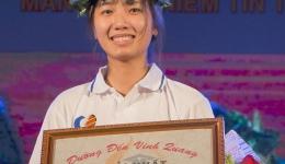 Nữ sinh Cái Bè (Tiền Giang) về nhất tuần sau 4 vòng đều dẫn đầu