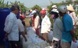 Phục vụ nước sạch cho người dân mùa hạn mặn