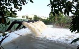 Chuyên đề 14.02 – Gò Công Đông thực hiện bơm trữ nước phục vụ sản xuất và sinh hoạt