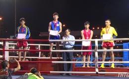 Bế mạc giải Kickboxing Đại hội TDTT ĐBSCL lần thứ VIII