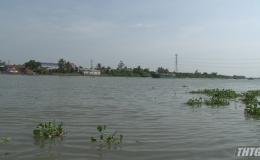 Chủ tịch UBND tỉnh khảo sát xâm nhập mặn tại Cai Lậy