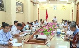 Phó Chủ tịch UBND tỉnh họp thẩm định văn kiện cấp huyện và tương đương