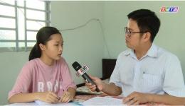 Hoàn cảnh em Nguyễn Ngô Đông Nhi, 12A10 Trường THPT Phạm Thành Trung